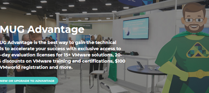 VMUG Advantage EVALExperience is serious about home labs with VCF recently added and a 10% discount for TinkerTry readers!