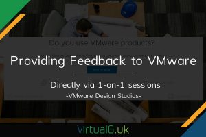 How to provide feedback directly to VMware 1-on-1