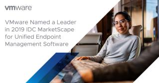 VMware Named a Leader in IDC Marketscape Reports