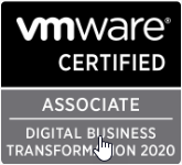 Follow on from VMware Starting Certifications – 2020 designations now in place