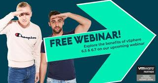 Explore The Benefits of vSphere 6.5 & 6.7 Webinar