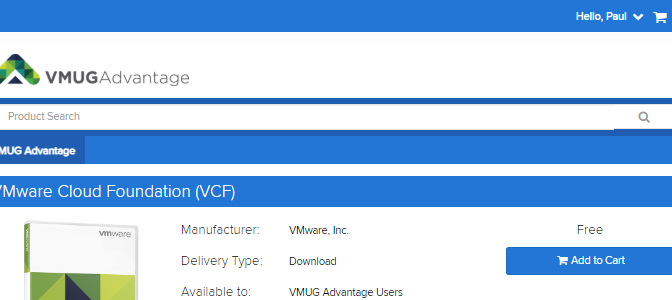 VMware Cloud Foundation 4.0 is now available on VMUG Advantage EVALExperience!